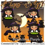 Bewitching Purple 3 Resell