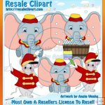 Dumbo Clipart Exclusives